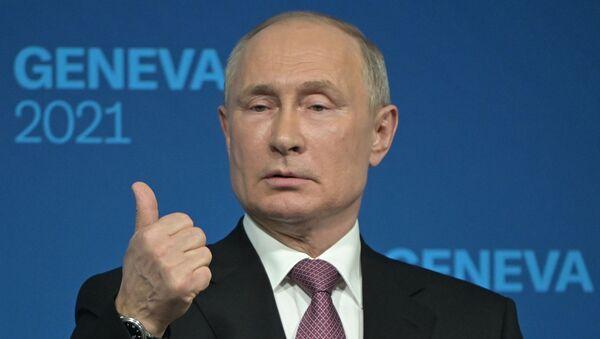 Rusya Devlet Başkanı Vladimir Putin - Cenevre - Sputnik Türkiye