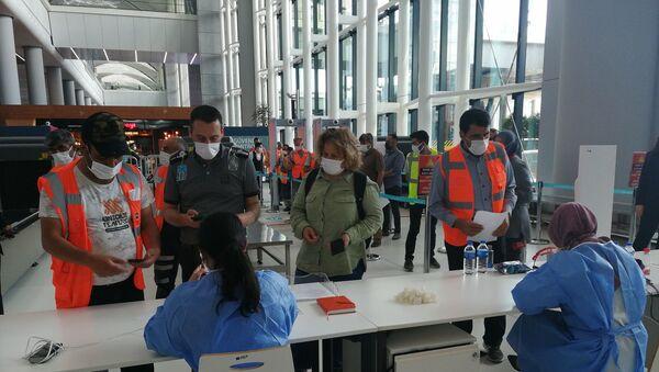 İstanbul Havalimanı Kovid-19 Aşı Merkezi hizmete açıldı - Sputnik Türkiye