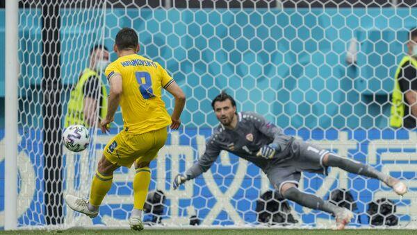 EURO 2020 C Grubu maçında Ukrayna, Kuzey Makedonya'yı 2-1'le geçti - Sputnik Türkiye