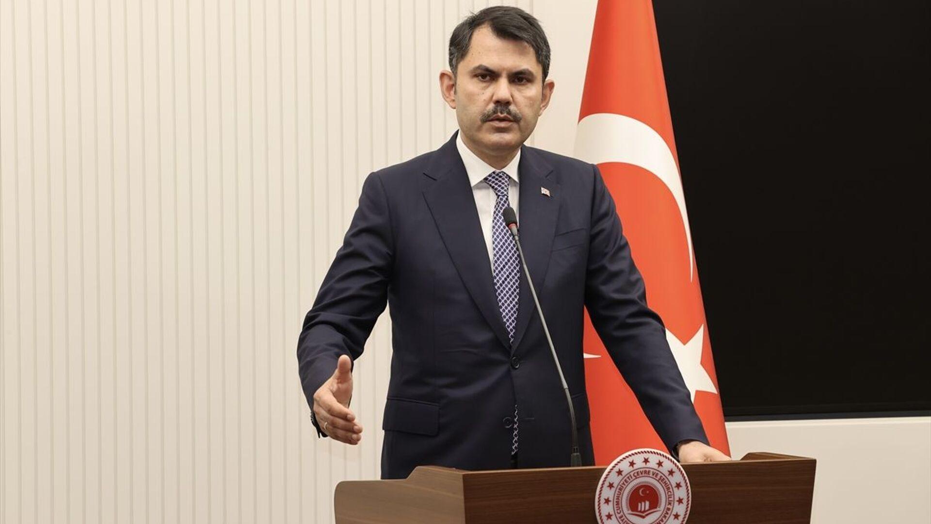 Murat Kurum - Sputnik Türkiye, 1920, 17.09.2021