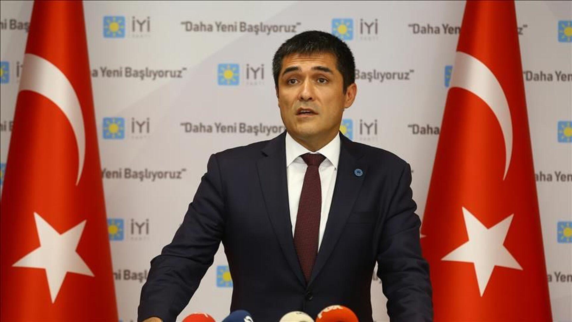 İYİ Parti İstanbul İl Başkanı Buğra Kavuncu - Sputnik Türkiye, 1920, 21.08.2021