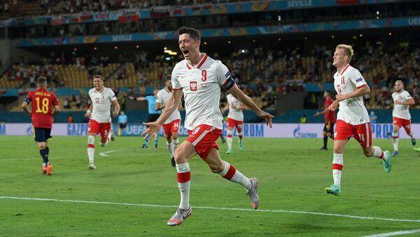 Polonya - İspanya - EURO 2020 - Lewandowski - Sputnik Türkiye