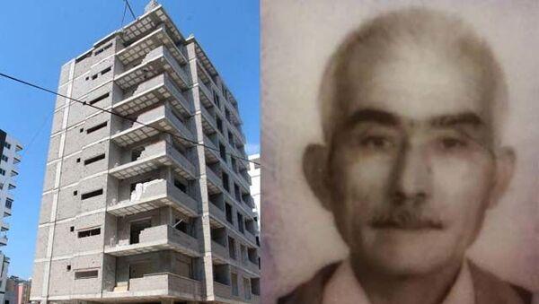 Adana'da, inşaatta çalışan 65 yaşındakiMehmet Kapukaya(65), yapımı süren apartmanın 8'inci katından zemine düşerek, hayatını kaybetti. - Sputnik Türkiye