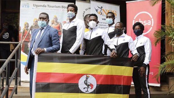 Uganda Milli Takımı / Tokyo 2021 - Sputnik Türkiye