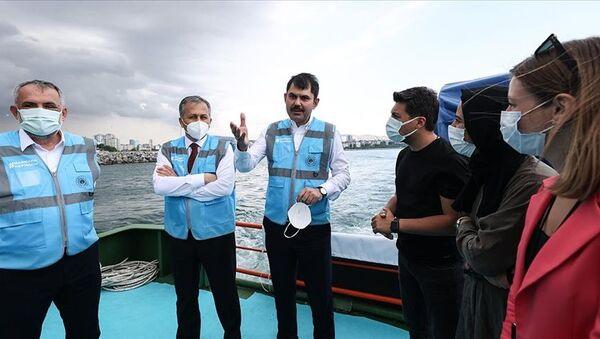 Murat Kurum / Çevre ve Şehircilik Bakanlığı - Sputnik Türkiye