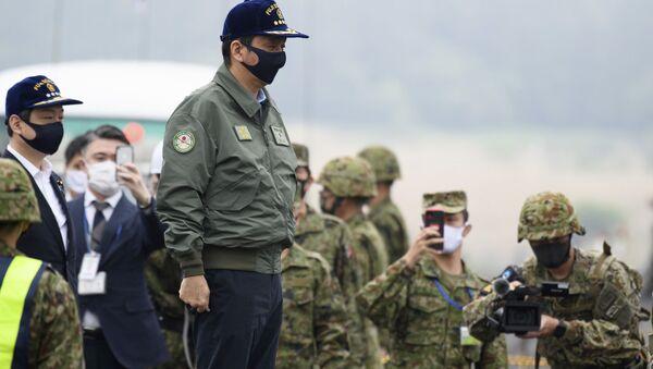 Japonya Savunma Bakanı Kişi Nobuo - Sputnik Türkiye