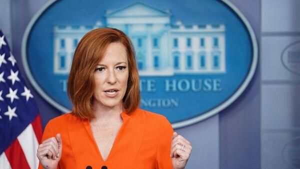 Beyaz Saray Sözcüsü Jen Psaki - Sputnik Türkiye