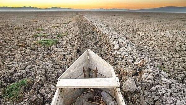 Meksika'nın en büyük ikinci gölü Cuitzeo tamamen kurudu - Sputnik Türkiye
