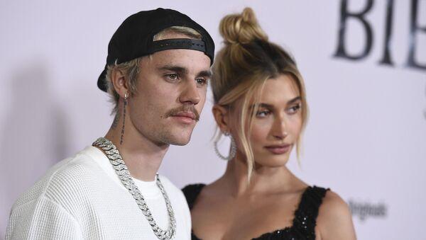 Justin Bieber- Hailey Baldwin Bieber - Sputnik Türkiye