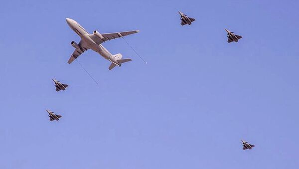 Katar ordusu / Katar savaş jetleri - Sputnik Türkiye