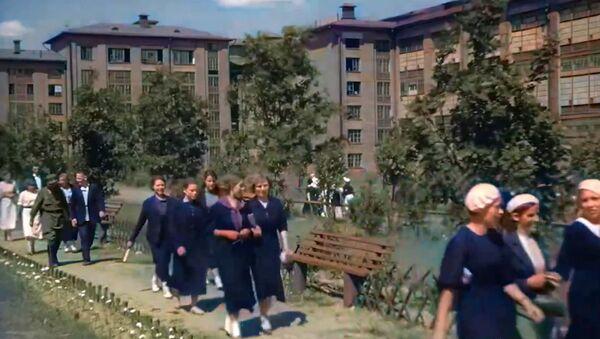 Moskova'nın savaş öncesi görüntüleri renklendirildi - Sputnik Türkiye