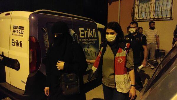 İstanbul - IŞİD operasyonu - gözaltı - Sputnik Türkiye