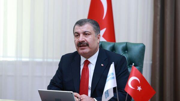 Sağlık Bakanı Dr. Fahrettin Kocav - Sputnik Türkiye