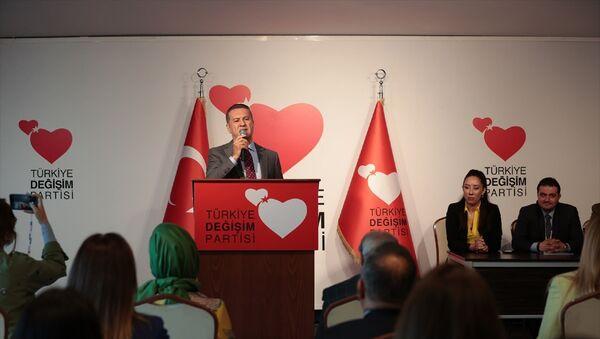 Türkiye Değişim Partisi (TDP) Genel Başkanı MustafaSarıgül - Sputnik Türkiye