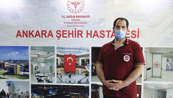 TURCOVAC'ın ilk gönüllülerinden olan Hüseyin Polat - Sputnik Türkiye
