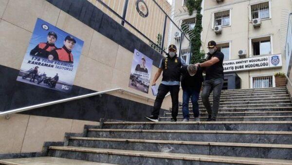 İstanbul'da kadın terapiste silah zoruyla cinsel saldırıda bulunan şüpheli tutuklandı - Sputnik Türkiye