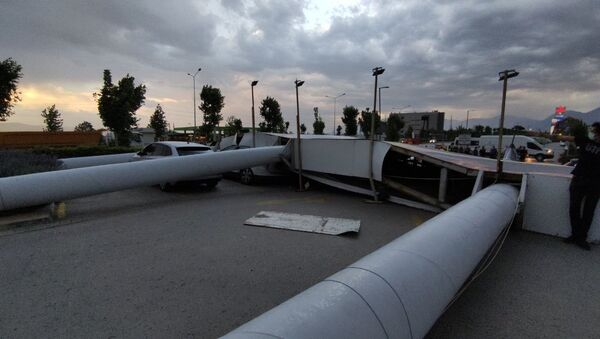 Denizli rüzgar - Sputnik Türkiye