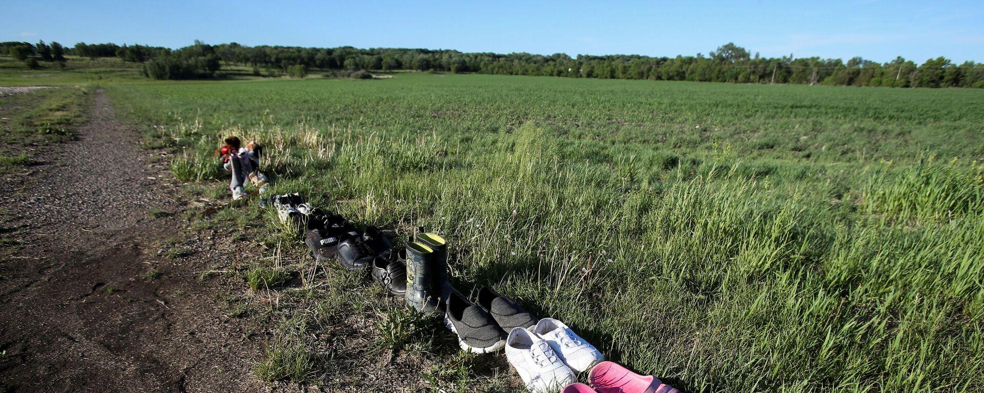 Kanada- Yerli çocuklara ait mezarlar - Sputnik Türkiye, 1920, 24.06.2021