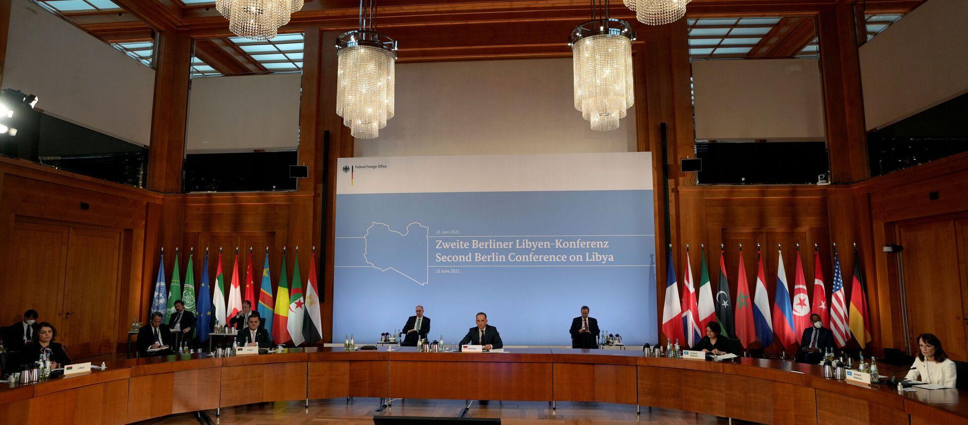 Almanya'da Libya konferansı - Sputnik Türkiye, 1920, 24.06.2021