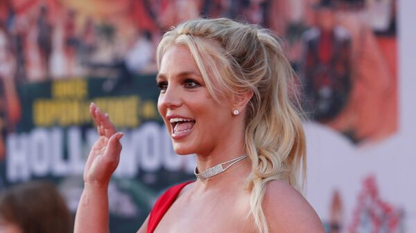 Britney Spears, 'Once Upon a Time In Hollywood' filminin prömiyerinde - Sputnik Türkiye
