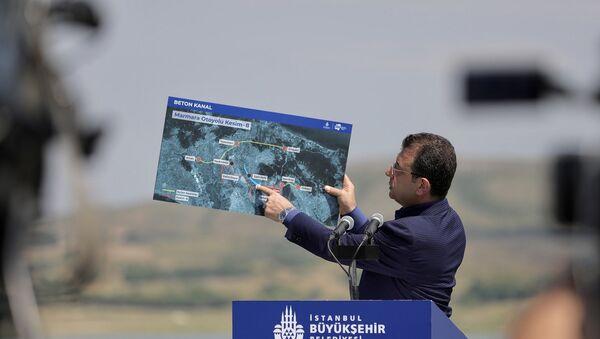 İstanbul Büyükşehir Belediye Başkanı Ekrem İmamoğlu - Sputnik Türkiye