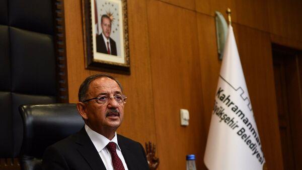 AK Parti Genel Başkan Yardımcısı ve Yerel Yönetimler Başkanı Mehmet Özhaseki - Sputnik Türkiye
