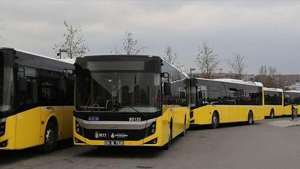 İstanbul toplu ulaşım otobüs - Sputnik Türkiye
