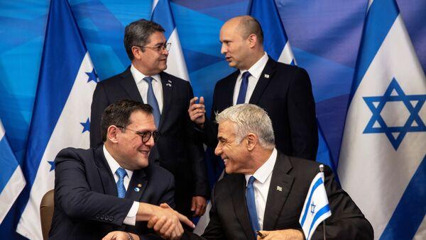 Honduras - İsrail - Sputnik Türkiye