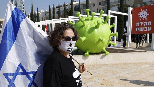 İsrail - koronavirüs - Sputnik Türkiye