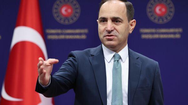 Dışişleri Bakanlığı Sözcüsü Büyükelçi Sayın Tanju Bilgiç - Sputnik Türkiye