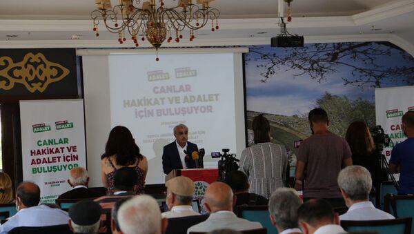 HDP Eş Genel Başkanı Mithat Sancar - Sputnik Türkiye