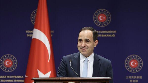 Dışişleri Bakanlığı Sözcüsü Tanju Bilgiç - Sputnik Türkiye
