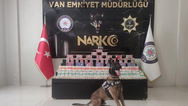 Van'da 205 kilo 240 gram eroin ele geçirildi - Sputnik Türkiye