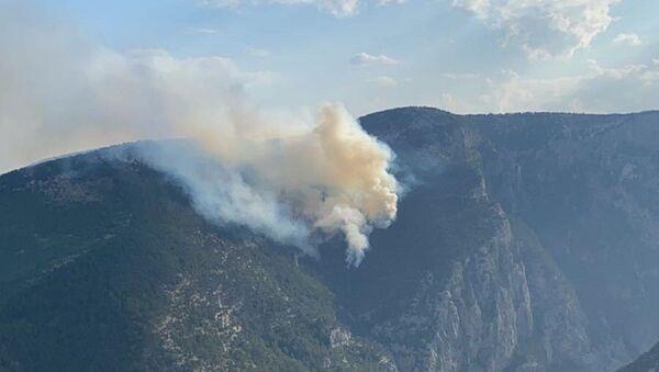 Mersin - Tarsus - orman yangını - Sputnik Türkiye