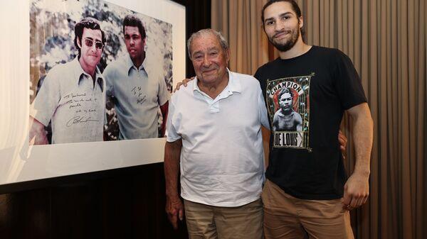 Muhammed Ali'nin torunu Nico Ali Walsh boksör oluyor - Sputnik Türkiye