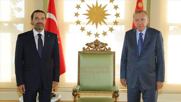 Erdoğan-Hariri - Sputnik Türkiye