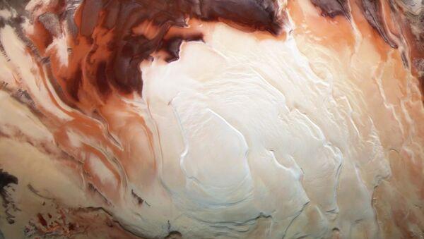 Mars buz örtüsü, güney kutbu - Sputnik Türkiye