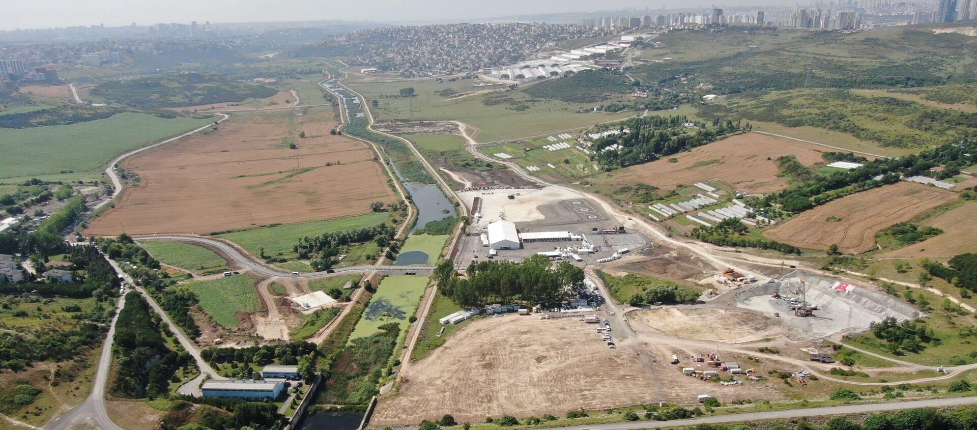 Kanal İstanbul alanı - Sputnik Türkiye, 1920, 02.07.2021