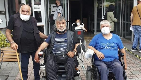 Darp edilen engelliler - Sputnik Türkiye