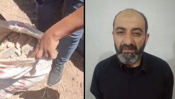 IŞİD'li terörist Semir el Hamid, ham TNT patlayıcı - Sputnik Türkiye