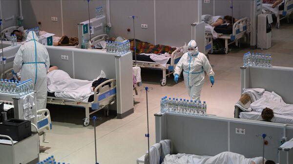 Rusya- Koronavirüs- Hastane - Sputnik Türkiye