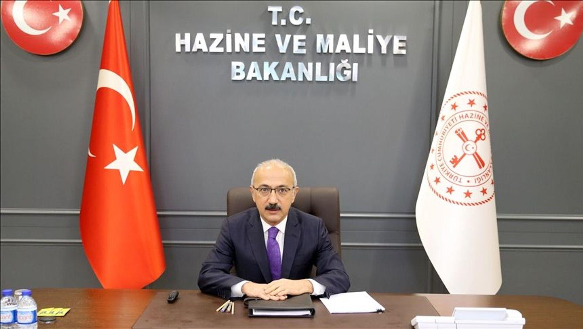 Hazine ve Maliye Bakanı Lütfi Elvan - Sputnik Türkiye, 1920, 29.07.2021