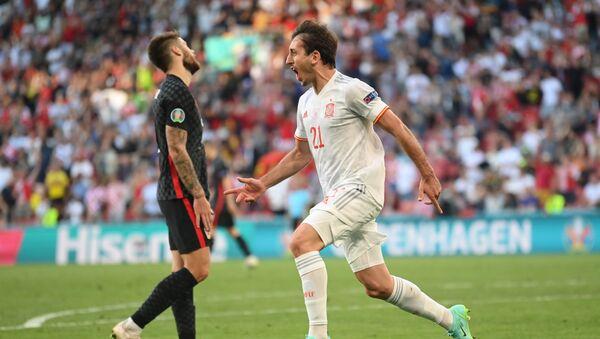 İspanya, Hırvatistan'ı 5 golle geçerek adını çeyrek finale yazdırdı - Sputnik Türkiye