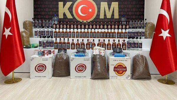 Sahte-kaçak içki - Sputnik Türkiye