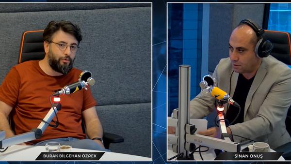 Sinan Onuş ve Bilgehan Özpek - Sputnik Türkiye