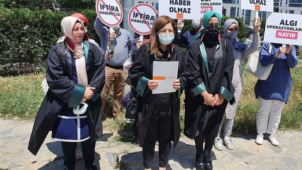 KADEM suç duyurusu - Sputnik Türkiye