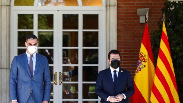 İspanya Başbakanı Sanchez, Katalanlarla görüşmeleri yeniden başlattı - Sputnik Türkiye