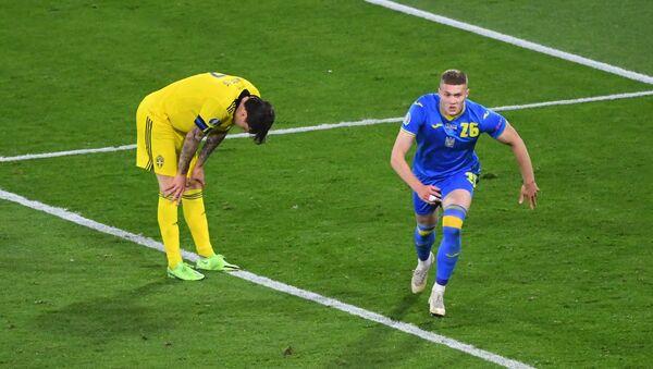 EURO 2020'nin son çeyrek finalisti, İsveç'i 2-1 mağlup eden Ukrayna oldu - Sputnik Türkiye