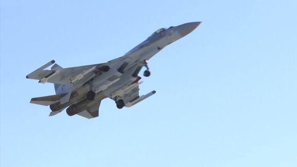 Rusya - Akdeniz - tatbikat - Su-34 - Sputnik Türkiye