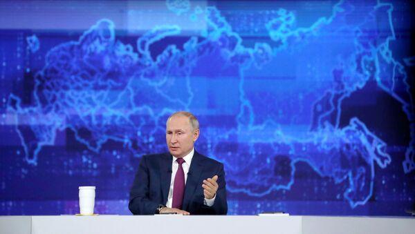 Vladimir Putin'le direkt hat - Sputnik Türkiye